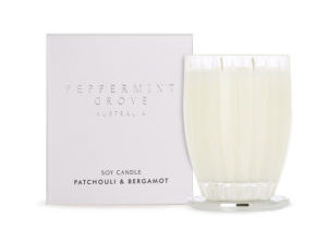 Large Candle 350g Patchouli & Bergamot